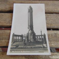 Postales: TARJETA POSTAL SANTA CRUZ DE TENERIFE MONUMENTO A LOS CAIDOS BAENA . Lote 118176579