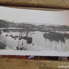 Postales: TARJETA POSTAL GIJON VISTA PANORAMICA DE EL MUELLE. Lote 118193611