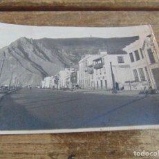 Postales: TARJETA POSTAL FOTO SANTA CRUZ DE LA PALMA PUERTO Y RISCO DE LA CONCEPCION. Lote 118195323