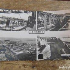 Postales: TARJETA POSTAL ALMERIA DIFERENTES VISTAS. Lote 118198607