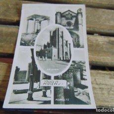Postales: TARJETA POSTAL AVILA DIFERENTES VISTAS. Lote 118201091