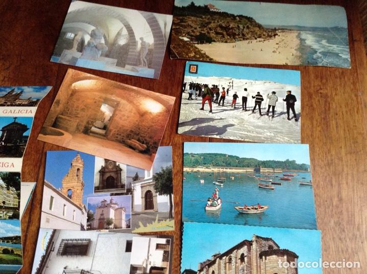 Postales: Lote de 20 postales y dos tiras de ciudades España años 60-70 - Foto 2 - 118836922