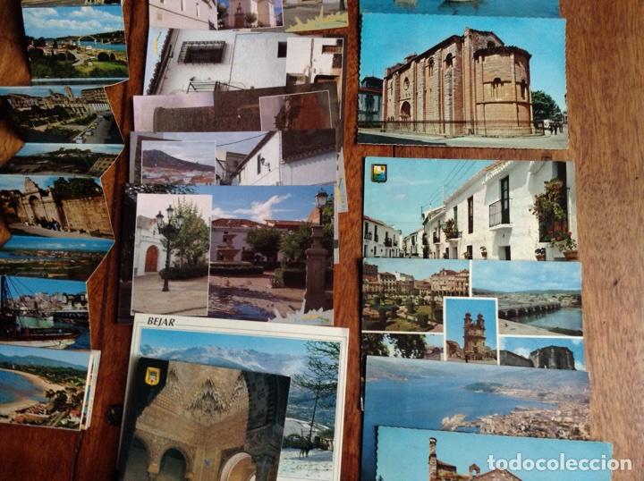 Postales: Lote de 20 postales y dos tiras de ciudades España años 60-70 - Foto 3 - 118836922