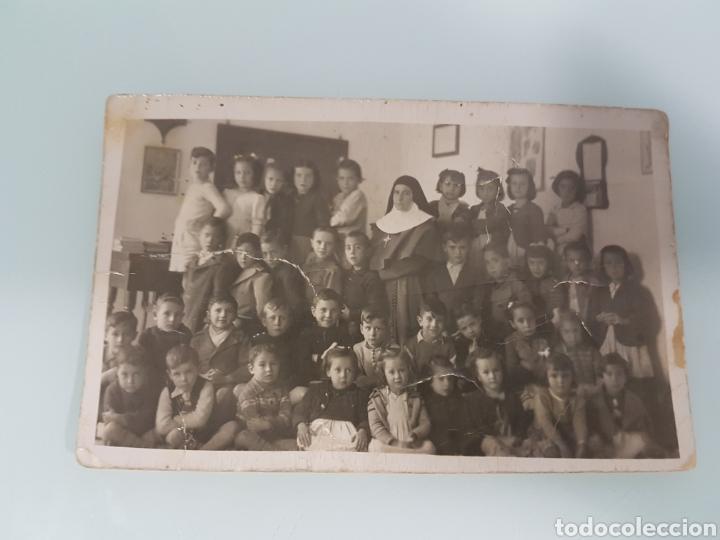 TARJETA POSTAL COLEGIO ZAMORA 1945 (Postales - España - Sin Clasificar Moderna (desde 1.940))