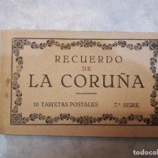 Postales: RECUERDO DE LA CORUÑA. Lote 121060243