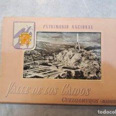 Postales: POSTALES VALLE DE LOS CAÍDOS. DESPLEGABLE.. Lote 121099083