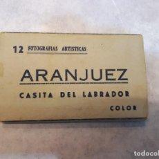 Postales: MINIPOSTALES, ARANJUEZ, DESPLEGABLE, 12. Lote 121119167