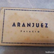 Postales: ARANJUEZ PALACIO. COMPLETO POSTALES.. Lote 121119551