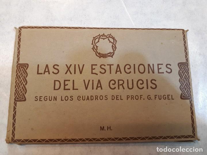 ESTACIONES DEL VÍA CRUCIS. G. FUGEL (Postales - España - Sin Clasificar Moderna (desde 1.940))