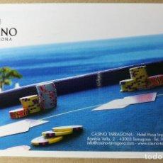 Postales: TARJETA POSTAL POSTALES PUBLICIDAD CASINO TARRAGONA INVITACION. Lote 121250923