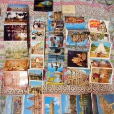 Postales: LOTE DE 168LIBROS FOTOGRAFICOS DE TURISMO DE CIUDADES ESPAÑA Y EUROPA AÑOS 60 Y 70. Lote 121401735