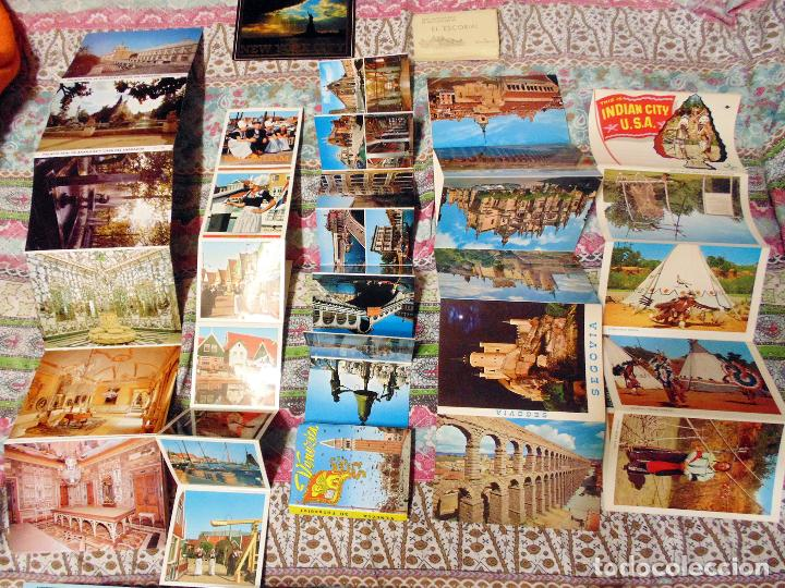 Postales: LOTE DE 168LIBROS FOTOGRAFICOS DE TURISMO DE CIUDADES ESPAÑA Y EUROPA AÑOS 60 Y 70 - Foto 2 - 121401735