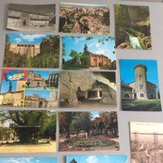 Postales: LOTE DE 37 POSTALES DE DIFERENTES REGIONES, LA MAYORÍA CIRCULADAS. VER FOTOS. Lote 122158031