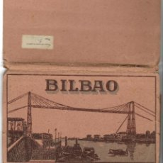 Postales: 1950'S ALBUM COMPLETO POSTALES L. ROISIN 16 VISTAS BILBAO . Lote 123566679