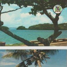 Postales: LOTE POSTALES SAMANA SOSUA REPUBLICA DOMINICANA AÑOS 60-70. Lote 124404307