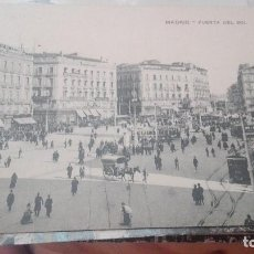 Postales: MADRID PUERTA DEL SOL UNION POSTAL UNIVERSAL. Lote 125193319