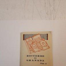 Postales: DESPLEGABLE FOTOS GRANADA 12 FOTOS ORIGINALES. Lote 127349219