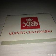 Postales: LOTE DE 3 POSTALES DE LA TRAVESÍA DE 1990. QUINTO CENTENARIO DEL DESCUBRIMIENTO DE AMÉRICA. 1992. Lote 127740192
