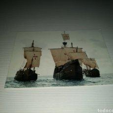 Postales: POSTAL DEL QUINTO CENTENARIO DEL DESCUBRIMIENTO DE AMÉRICA. LAS TRES CARABELAS. 1992. Lote 127740292