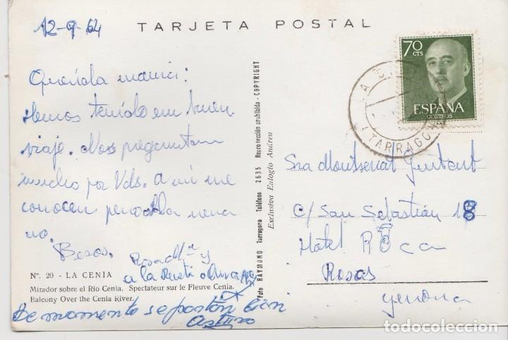 Postales: POSTALES POSTAL LA CENIA TARRAGONA - Foto 2 - 130669693