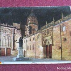 Postales: 5667 SPAIN ESPAÑA ESPAGNE CASTILLA Y LEÓN SALAMANCA PLAZA DE LA UNIVERSIDAD. Lote 131009904