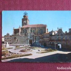 Postales: 5671 SPAIN ESPAÑA ESPAGNE CASTILLA Y LEÓN VALLADOLID MEDINA DEL CAMPO LA COLEGIATA 1969. Lote 131010412