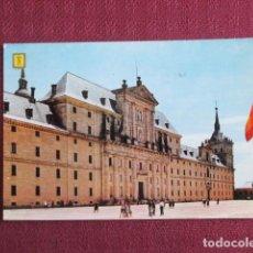 Postales: 5672 SPAIN ESPAÑA ESPAGNE MADRID SAN LORENZO EL ESCORIAL FACHADA PRINCIPAL 1968. Lote 131010556