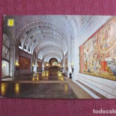 Postales: 5674 SPAIN ESPAÑA ESPAGNE MADRID EL ESCORIAL SANTA CRUZ DEL VALLE DE LOS CAIDOS 1968. Lote 131010840