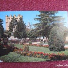 Postales: 5675 SPAIN ESPAÑA ESPAGNE CASTILLA Y LEÓN SEGOVIA JARDINES DEL ALCÁZAR 1969. Lote 131010928