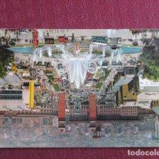 Postales: 5677 SPAIN ESPAÑA ESPAGNE CATALUÑA BARCELONA PARQUE DE MONTJUICH SURTIDOR GIGANTE 1963. Lote 131011272