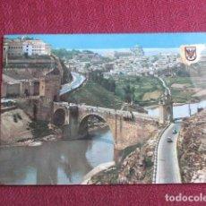 Postales: 5679 SPAIN ESPAÑA ESPAGNE CASTILLA LA MANCHA TOLEDO PUENTE DE ALCANTARA 1968. Lote 131011608
