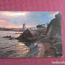 Postales: 5680 SPAIN ESPAÑA ESPAGNE CATALUÑA GIRONA COSTA BRAVA LLORET DE MAR 1966. Lote 131011720
