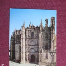 Postales: 5668 SPAIN ESPAÑA ESPAGNE EXTREMADURA CACERES PLASENCIA. CATEDRAL. FACHADA PRINCIPAL 1968. Lote 131009936