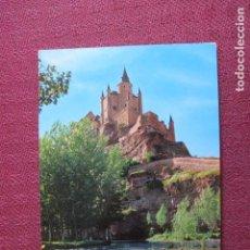 Postales: 5676 SPAIN ESPAÑA ESPAGNE CASTILLA Y LEÓN SEGOVIA VISTA POSTERIOR DEL ALCAZAR. Lote 131011068