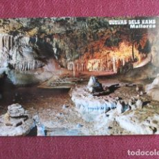 Postales: 5682 SPAIN ESPAÑA ESPAGNE BALEARES MALLORCA PORTO CRISTO CUEVAS DELS HAMS 1972. Lote 131195704