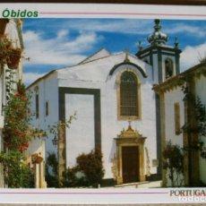 Postales: TARJETA POSTAL POSTALES PUBLICIDAD OBIDOS PORTUGAL. Lote 131374474