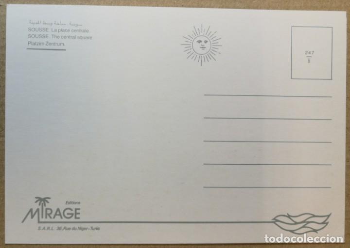 Postales: TARJETA POSTAL POSTALES PUBLICIDAD SOUSSE TUNEZ - Foto 2 - 131463242