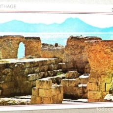Postales: TARJETA POSTAL POSTALES PUBLICIDAD CARTHAGO TUNEZ. Lote 131463466