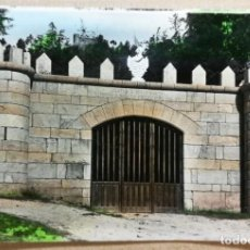 Postales: TARJETA POSTAL POSTALES PUBLICIDAD CASTILLO VILLASOBROSO ENTRADA MONDARIZ PONTEVEDRA. Lote 189359987