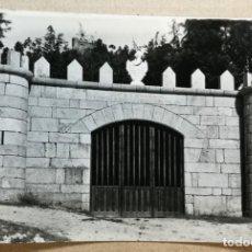 Postales: TARJETA POSTAL POSTALES PUBLICIDAD CASTILLO VILLASOBROSO ENTRADA MONDARIZ PONTEVEDRA. Lote 131531382