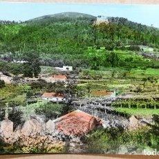 Postales: TARJETA POSTAL POSTALES PUBLICIDAD CASTILLO VILLASOBROSO IGLESIA MONDARIZ PONTEVEDRA. Lote 189262092