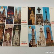 Postales: LOTE DE POSTALES IBERIA DE DIFERENTES LUGARES DE ESPAÑA. Lote 134340974