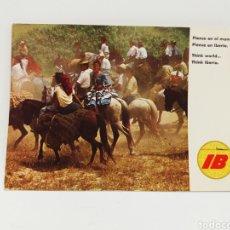 Postales: ESPAÑA, ROMERÍA EN ANDALUCÍA, FOTOGRAFÍA DEL CALENDARIO IBERIA DE 1970 - POSTAL COLECCIÓN IBERIA. Lote 134429246