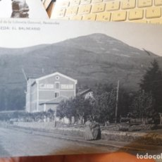 Postales: ALCEDA, CANTABRIA, EL BALNEARIO, ED. LIBRERIA GENERAL, SANTANDER, 1940. Lote 135137894