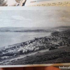 Postales: LAS ARENAS, VISTA DEL ABRA, BILBAO, ED. FHER, 1939, CENSURA MILITAR, RARISIMA. Lote 135139238