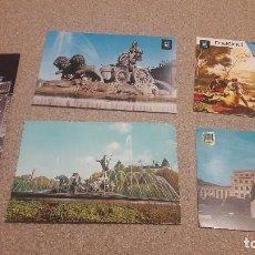 Postales: POSTALES.... CINCO POSTALES DE MADRID .....CIRCULADAS...... Lote 136548682