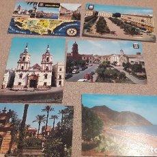 Postales: POSTALES.... SEIS POSTALES DE ANDALUCÍA...ESCRITAS Y CIRCULADAS..... Lote 136599702