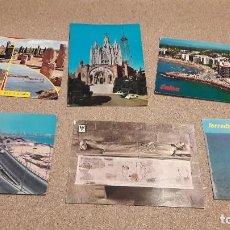 Postales: POSTALES....SEIS POSTALES DE CATALUÑA....... ESCRITAS Y CIRCULADAS...... Lote 136701474