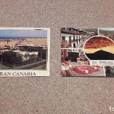 Postales: POSTALES.....DOS POSTALES DE LAS ISLAS CANARIAS.....ESCRITAS........... Lote 137303774