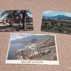 Postales: POSTALES....TRES POSTALES DE LAS ISLAS CANARIAS.....ESCRITAS Y CIRCULADAS........ Lote 137304078